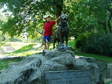 Timmy and Balto