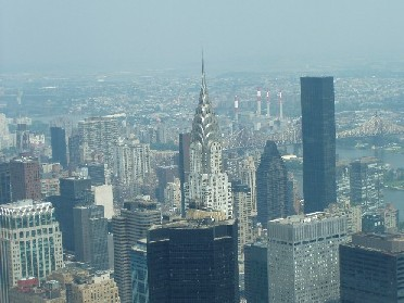 Empire State Building - View of the City