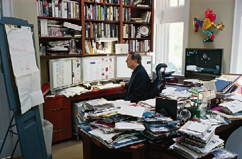 A Messy Desk Is The Sign Of An Orderly Mind Ray Fowler