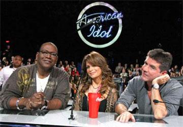 American Idol Judges - Randy Jackson, Paula Abdul, Simon Cowell