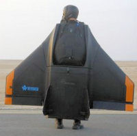 Gryphon personal strap-on jet wing