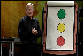 Bill Hybels - Traffic Light Illustration