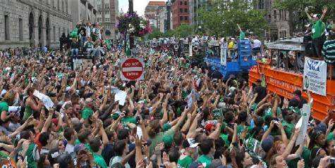 Boston Celtics 2008 Victory Parade | 2008 NBA Championship