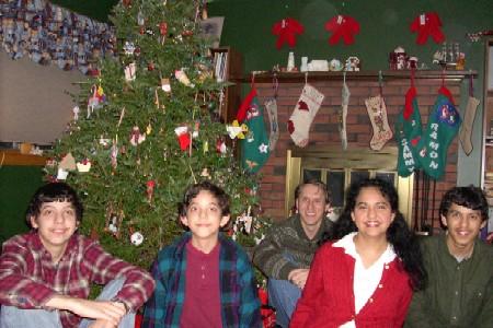 Fowler Christmas Photo