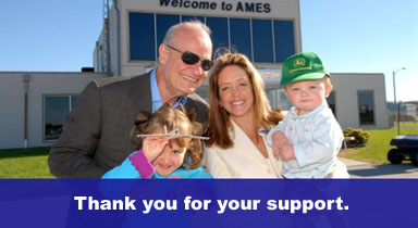 Fred Thompson and Family