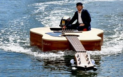 Floating Guitar