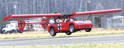 Jesse James Flying Car