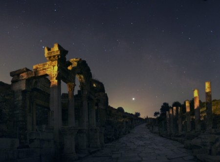 Jupiter over Ephesus | Hadrianus Center