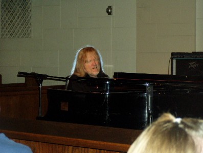 Larry Norman at Calvary Baptist Church in NYC - August 4, 2007