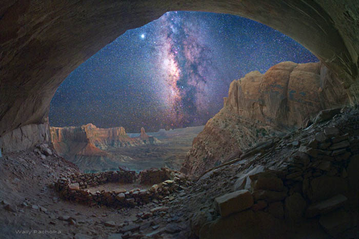 Milky Way and Jupiter | False Kiva