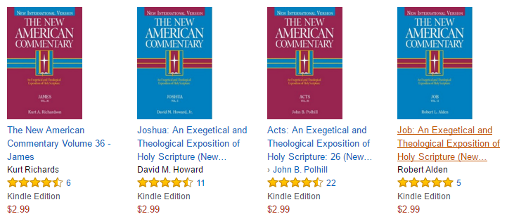 Ebooks ray fowler i dont know how long this sale will last but right now most of the new american commentary volumes for kindle are on sale for 299 each fandeluxe Gallery