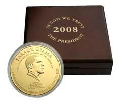 Obama Presidential Coin