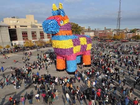 World's Largest Pinata