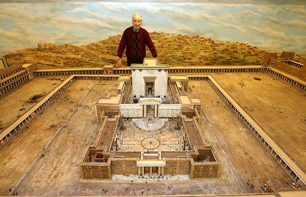 Scale Model of Herod's Temple | Alec Garrard