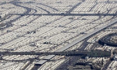 Muslim Tents Near Mecca