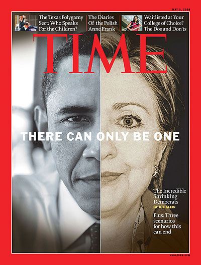 time magazin - obama - clinton