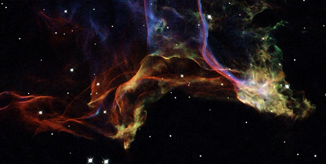 Hubble Photo of the Veil Nebula
