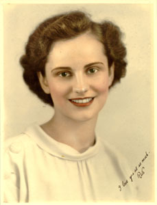 Young Ruth Graham